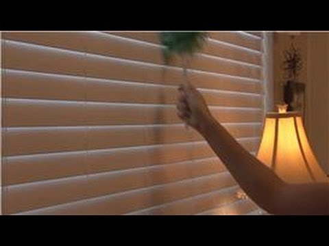 Housecleaning Tips Cleaning Plastic Mini Blinds Youtube