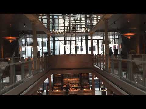 Beautiful&All Glass Kone Traction Elevator At Restoration Hardware In Chelsea NYC