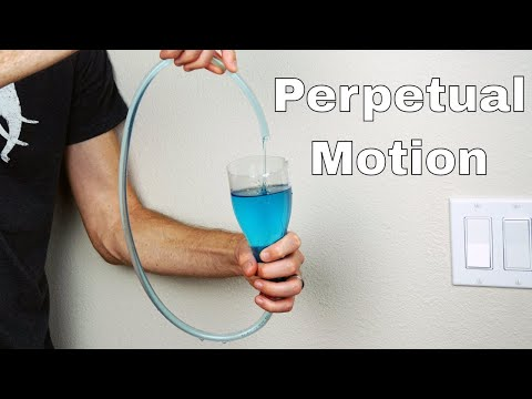 Thumbnail: Boyle's Self-Flowing Flask Filled With Polyethylene Glycol (Self-Pouring Liquid) = Perpetual Motion?