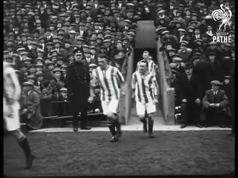 Aston Villa v Burnley 1920s