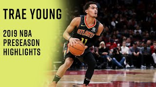 Trae Young 2019 Preseason Highlights | Second-Year Leap Coming for Hawks Star PG?