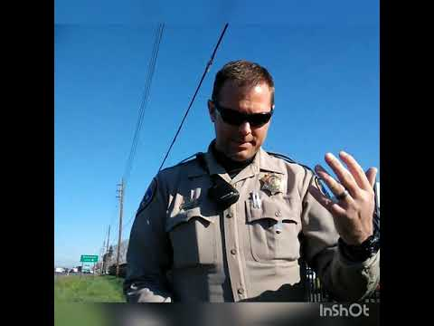 CHP TYRANT. Salida, CA. Almost got Arrested for public photography.(unedited & Raw).