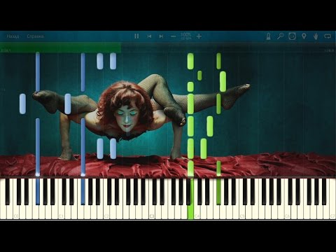 American Horror Story: Freak Show Theme. Piano (Synthesia)