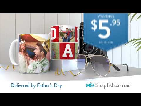 Snapfish Father's Day 2018 | Great Prices On Photo Books, Canvas, Mugs And More...