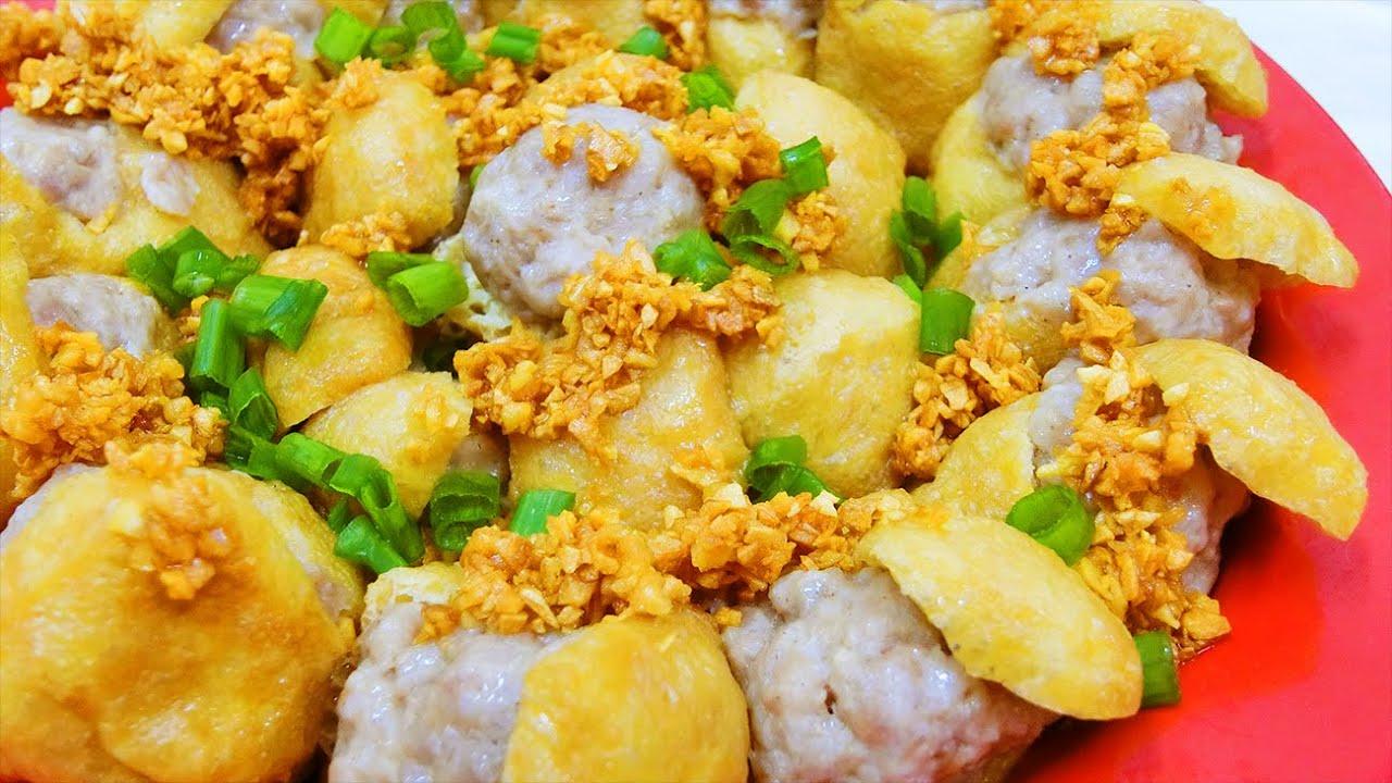 【妈妈食谱】酿豆卜  |  [Mum's Recipe] Steamed Tofu Puff with Minced Pork (English CC Available)
