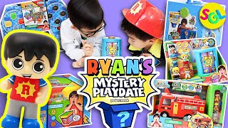Ryan Mystery Playdate Surprise Toys Unboxing | Who Will It Be? It's a Mystery! Smiles Giggles Laughs