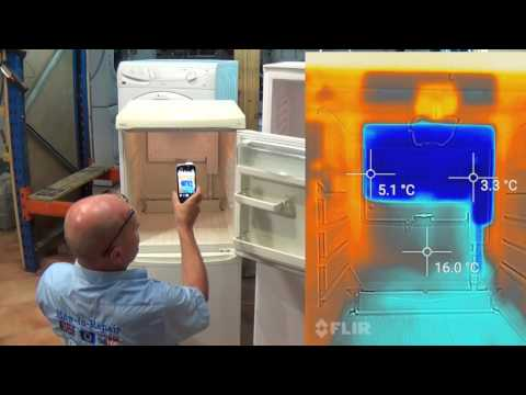 Thermal Imaging Camera to repair refrigeration Fridge Freezers Cat s60 & Samung Iphone Etc