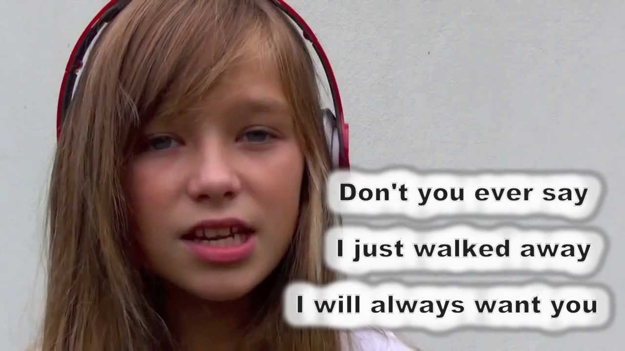 Wrecking Ball Miley Cyrus Connie Talbot cover [lyrics] - YouTube