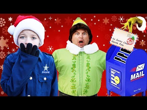 Download Youtube: Where's Santa's magical wishlists? Silly funny kids Christmas video featuring Buddy the Elf w/Grinch