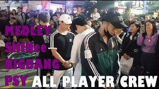Download lagu 20180924 All Player Crew HONGDAE // Medley  [SHINee, BIGBANG, PSY]