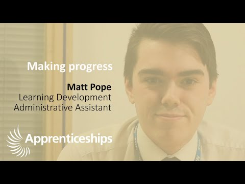 National Apprenticeship Week #NAW2020 - Making Progress