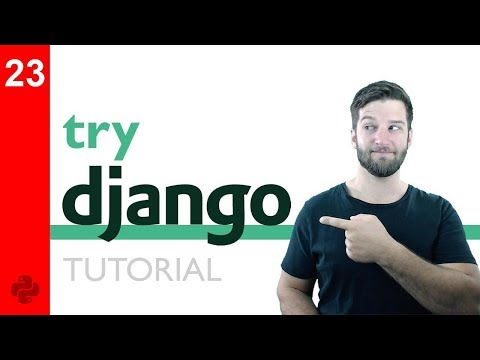 Try DJANGO Tutorial - 23 - Django Model Forms