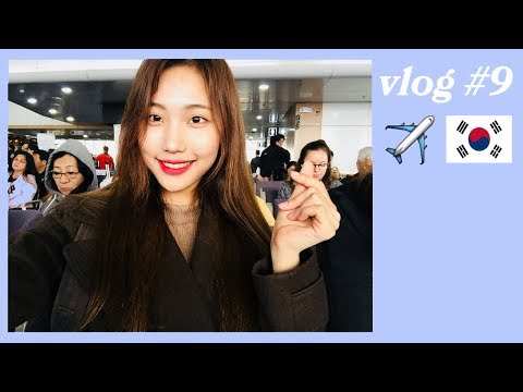 [VLOG] Flight to Busan from the Philippines 부산행 비행기 ft. 기내식