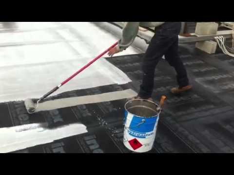 Alluminio liquido per guaina youtube for Guaina liquida trasparente mapei