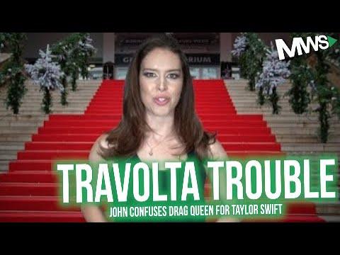John Travolta Mistakes Drag Queen As Taylor Swift At VMAs