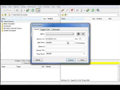 FlashFXP ile FTP Bağlantısı - IHS TELEKOM