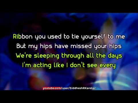 Lorde - Sober (Instrumental / karaoke) with Lyrics