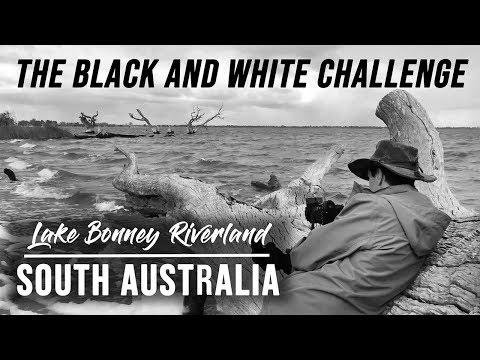 Landscape Photography | Black & White Challenge |  South Australia