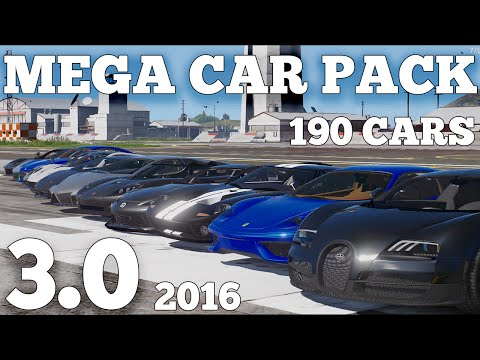 GTA V - MEGA REALISTIC CAR PACK 3.0 (190 CARS) [DOWNLOAD]