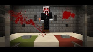 Horror Movie in Minecraft Pocket Edition (SAW Horror Map)