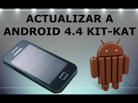 Actualizar Samsung Galaxy Ace a Android 4.4