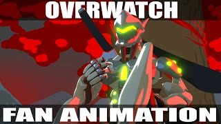 """Genji and Zenyatta"" An Overwatch Fan Animation"