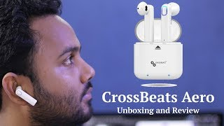 CrossBeats Aero – Most Advanced True Wireless Earphones with Mic