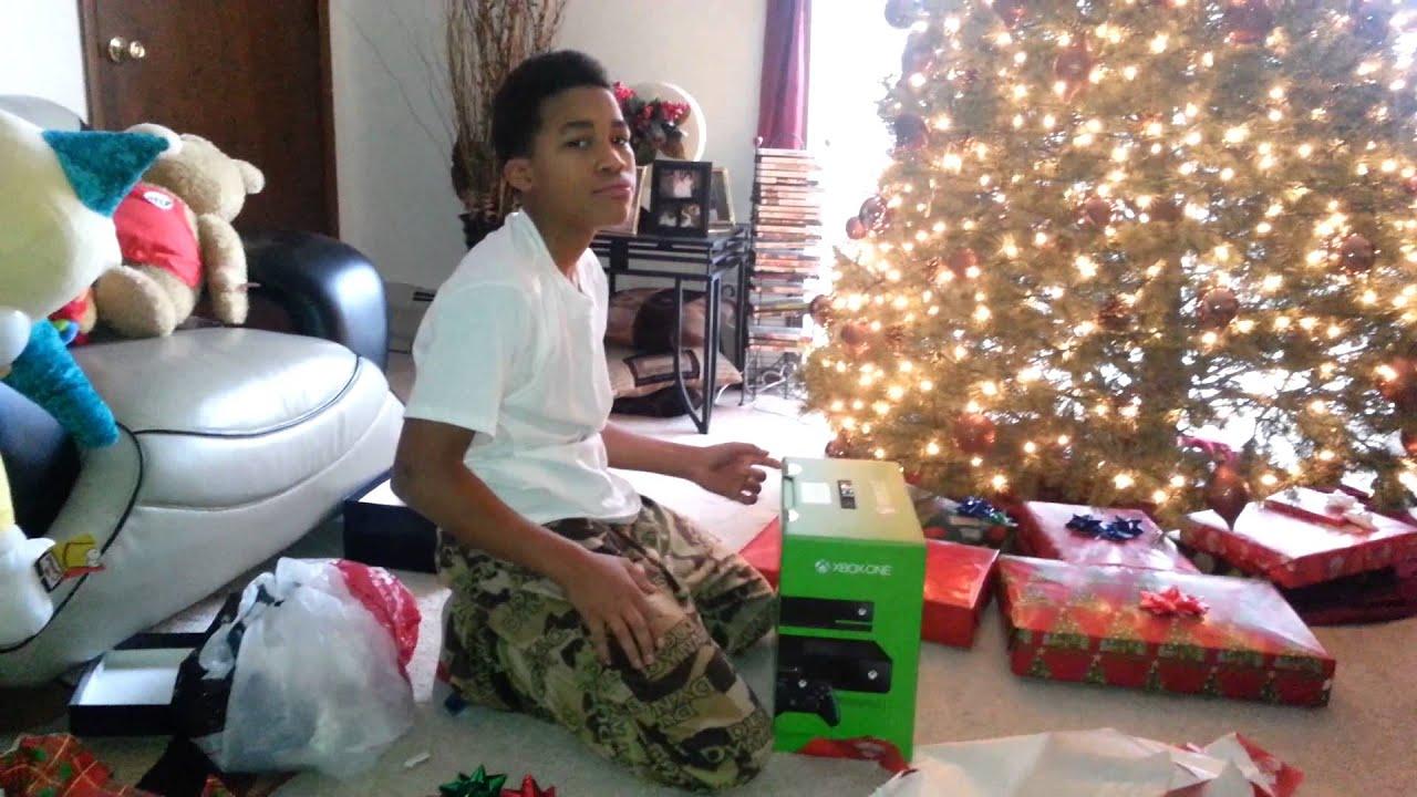 Christmas gift xbox one - YouTube