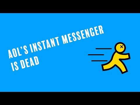 Goodbye: AOL's Instant Messenger Service Closes After 20 Years Of Faithful Service