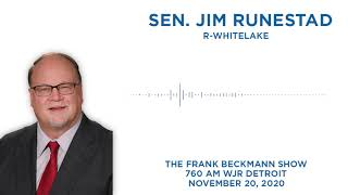 Sen. Runestad talks COVID-19 vaccines on the Frank Beckmann Show