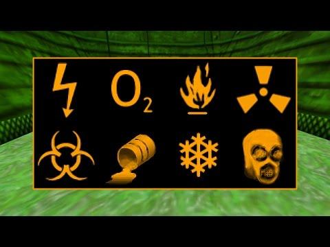 Half-Life - HEV Suit Damage Diagnoses