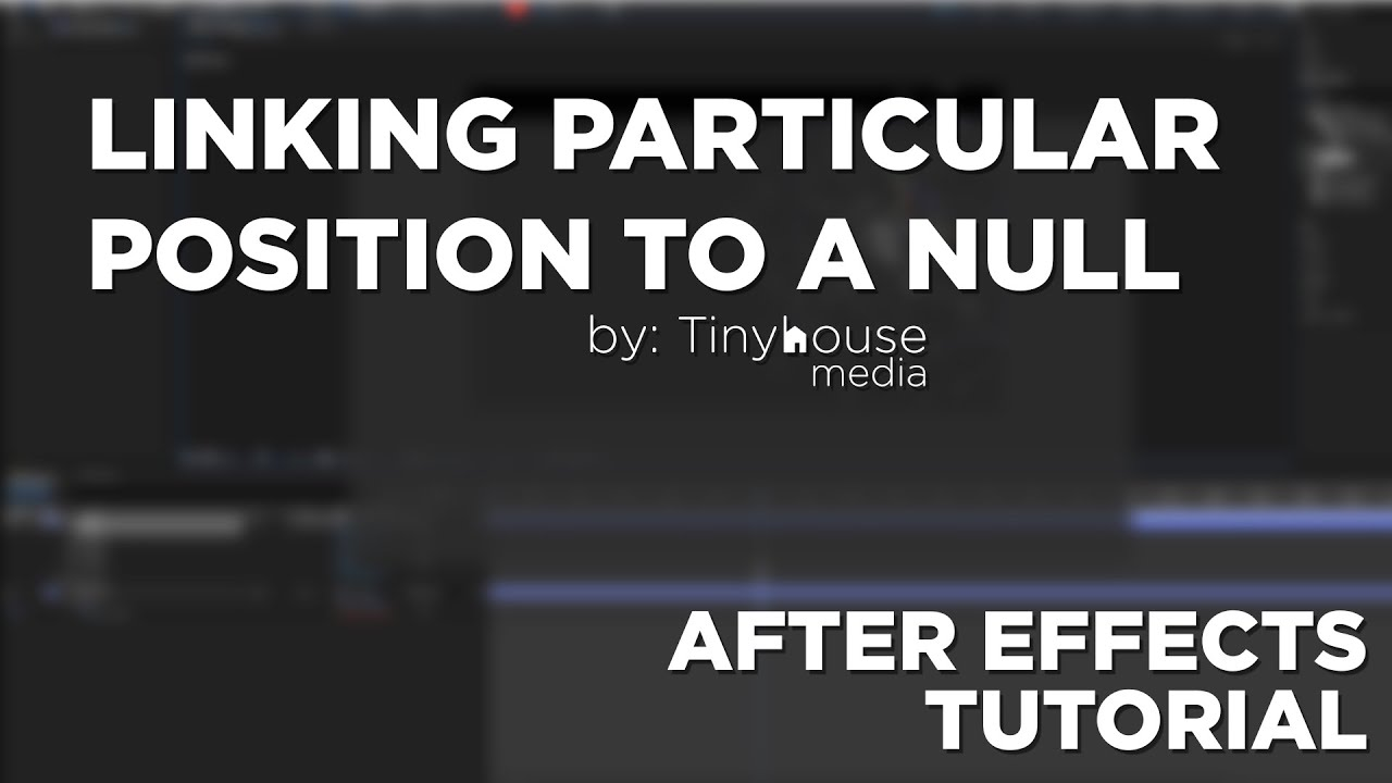 Quick Tips : Linking Trapcode Particular to a Null - After Effects Tutorial