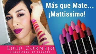 !Más que Mate, Matissimo! Labiales Mary Kay