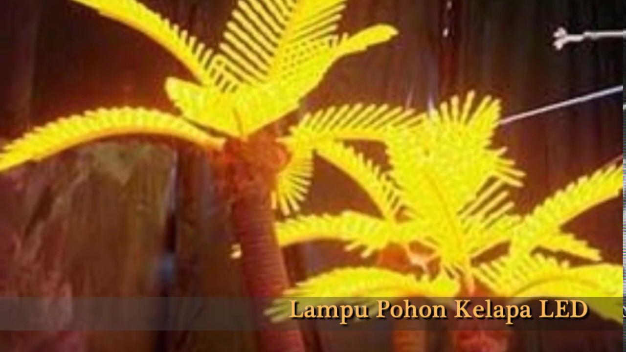 Jual Produk Ukm Bumn Lampu Hias Pohon Kelapa Kain Batik Handmade Warna Alam