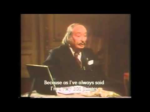 "Salvador Dali ""I'm Not a Good Painter"" Interview"