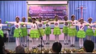 action song oleh pelajar sk convent sitiawan