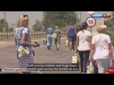 CORRUPTION & BRIBES: Russian TV Hidden Camera Reveals How to Illegaly Cross Ukrainian Border