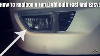 Here Is How To Fix A Bad Fog Light Bulb On A Infinti G20