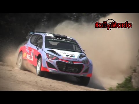 Test Hyundai i20 WRC Thierry Neuville Viana do Castelo 2015 Day 1 HD