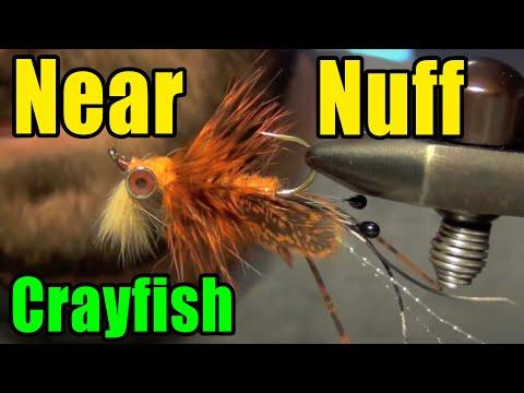 Near Nuff Crayfish Bass Carp Fly Tying Instructions