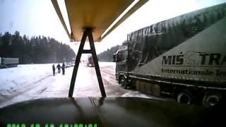 Дорожная ситуация ВОРОНОВО-БЕНЯКОНИ часть 1