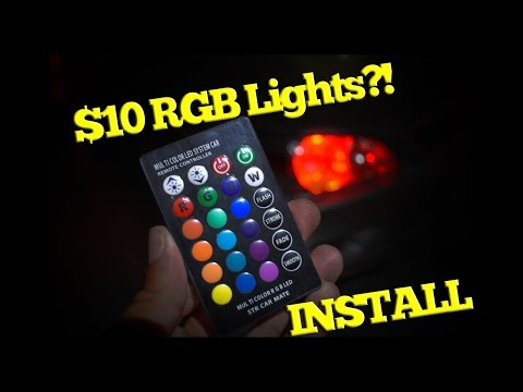 $10 Demon Eyes Alternative?! - Lexus Is300/Toyota Altezza RGB Parking Lights Install Guide