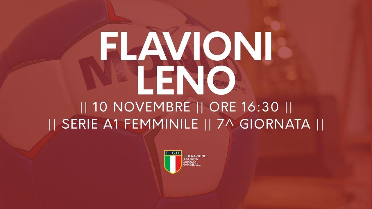 Serie A1F [7^]: Flavioni - Leno 24-29