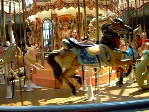 Abby on the rivergate mall carousel youtube for The rivergate