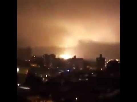 Meteor Hits Brazil causing meteor fireball over Recife 2014