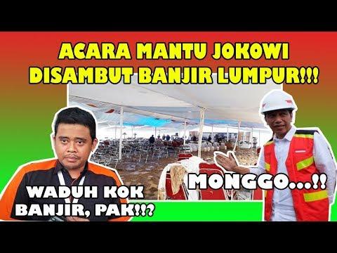 GEGER ! SAMBUT MENANTU JKW, BANJIR LUMPUR YG DATANG ! #INDONESIA MENANG !