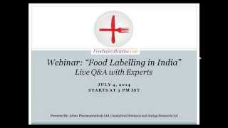 Food Labelling in India