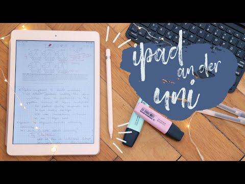 iPad an der Uni // Wofür ich mein iPad 2018 an der Uni nutze