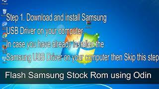 How to Samsung Galaxy S5 SM G901F Firmware Update (Fix ROM)