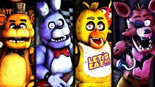PERSEGUIDO POR LOS ANIMATRONICOS De FNAF 1 EPICOS | Creepy Nights at Freddys (FNAF 1 REMASTERIZADO)